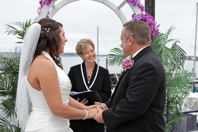 Connie Mills, Wedding at DiMillo's On The Water, Portland