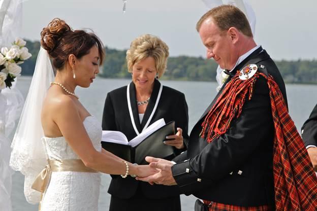 Connie Mills, Wedding Officiant, Scottish Wedding
